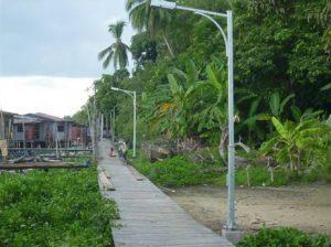Kampung Tronglit, Batu Sapi Walkway Lighting